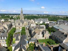 最後の海外旅行となるか2017年フランスの旅10。ブルターニュを巡るその2:ブルターニュの中世都市ディナン。