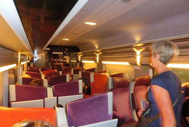 5/30(火)、6日目。<br />5連泊したパリをいったん離れ今日から4泊5日のブルターニュ地方の旅です。荷物はホテルに預かってもらい数日分の必要品を詰めた小さなリュック一つで出発。<br />1日目はサン・マロからディナンまで。<br /><br />サン・マロは人口5万人弱、6世紀初頭に設立された修道院に起源をもちます。16~18世紀にかけてサン・マロの船乗りはコルセールという私掠船(海賊船)に乗り、国の公認のもと外国船から航行税の取り立て、略奪行為を行った。それらはサン・マロだけでなくフランス王国に莫大な財貨をもたらした。17世紀末にはサン・マロはフランス最大の港町にもなった。<br />サン・マロの船乗りたちは北米、南米にまで雄飛し、カナダを発見しています。<br />旧市街地は12~18世紀にかけて築かれた城壁でぐるりと囲まれていて、その上を歩けばほぼ街を1周できます。<br /><br />第2次世界大戦で街の8割が破壊されましたが今は見事に復旧していて、ブルターニュ地方1の観光地になっています。<br /><br />写真はサン・マロに向かうTGV車内。