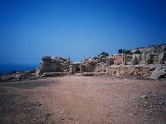 2003年8月、駆け足で地中海を縦断、チュニジア、マルタ、シチリアへ③(巨石文明と青の洞窟)