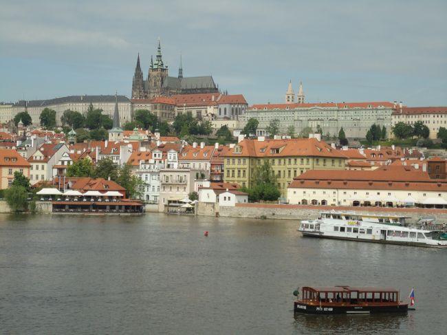 足まめ母娘の初めて中欧2人旅 ブダペストからプラハ⑤「プラハ到着!プラハ城入場ウォーキングツアーに参加」