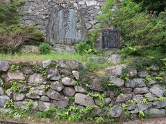 2017初夏、日本百名城の松阪城(1/8):6月22日(1):松阪城(1):名古屋から近鉄で松阪へ、松阪城址、野面積の石垣