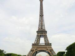 最後の海外旅行となるか2017年フランスの旅24。最後の日はオープン・ツアー・バスでパリの主要スポットを一周。