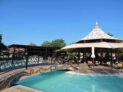 ケニア航空[ケープタウン→リビングストン] ビクトリアフォールズ(ザンビア側)入口より最も近いホテル【AVANI Victoria Falls Resort】   南アフリカ・ザンビア・ジンバブエ6