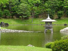 万博公園(1) 日本庭園心字池周辺。