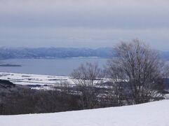 子どもと初滑り-磐梯山周辺