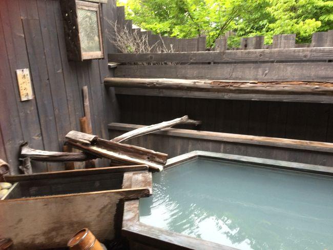 草津温泉に一泊、帰りは少し遠回りをして軽井沢に行きました。