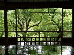 2017初夏の京都~涼を求めて八瀬、瑠璃光院の青紅葉