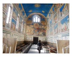 スクロベニー礼拝堂  ジョットの絵 パドヴァ② イタリア旅行4