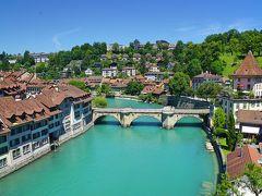 絶景を求めてスイスへの旅 <8> アーレ川に囲まれた大変美しい古都ベルン♪