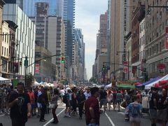 ニューヨークの夏の風物詩、ストリートフェスティバル