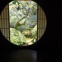 雲龍院の悟りの窓を見て何も悟っていないことを悟った京の暑い日