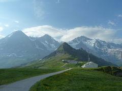 2017 再び、初夏のスイスへ 3 ♯1メンリッヒェンからクライネ・シャイデックへ ♯2 アイガーグレチャーからクライネ・シャイデックへ