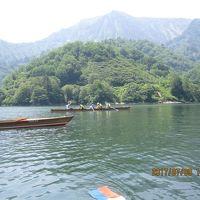 漕ぐ旅「奥只見湖」水面(みおも)からの景色