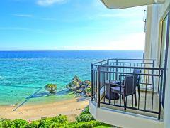 ホテル日航アリビラ ヨミタンリゾート沖縄 プレミアオーシャンパティオツイン 宿泊記 アリビラ美術館 沖縄屈指の透明度の天然ビーチ・ニライビーチ