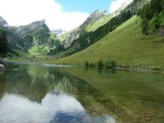 2017 再び、初夏のスイスへ 13 ゼーアルプゼー(Seealpsee)へ