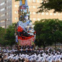 博多・祇園山笠の最終日、追い山を観ました!! 歴史があり勇壮・壮大そしてパワフルなお祭です(^0^)!!