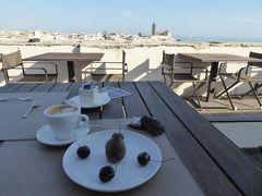 プーリア州優雅な夏バカンス♪ Vol18(第3日) ☆Trani:パラッツォホテル「Mare Resort」美しい朝食♪