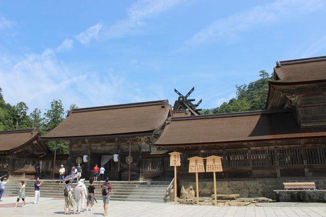 夏の連休に出雲大社~足立美術館~松江城を2泊3日で観光してきました。ゆったりプランです。1泊目玉造温泉、2泊目松江市内