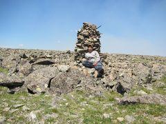 テレルジから馬で行くアルタンウルギー山登山