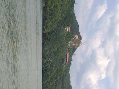 恵那峡 遊覧船へ
