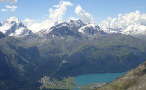 ベルニナ峠を越えて スイス夏② サンモリッツ