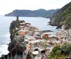 団塊夫婦の2017年イタリアの小さな町巡りー(3)崖の上に建つ世界遺産の街・チンクエテッレへ