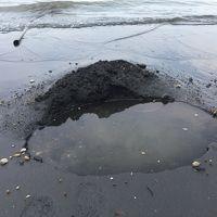 桜島の穴場スポット「海辺の秘湯」です