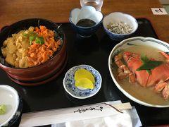 今年も来ましたウニ丼食べに(^.^) 1泊2日弾丸北海道