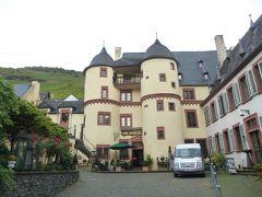ドイツの秋:⑨モーゼル川中流の古城ホテル ツェル城のTurmzimmerタワールームに2泊した。