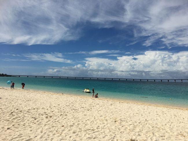 憧れの宮古島 ボンビー旅行 Vol.4 与那覇前浜ビーチで日光浴…のはずが…( ゚Д゚)