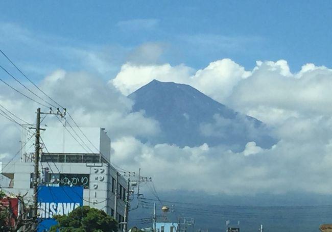 富士滞在 7月<br /><br />6月の一時帰国から2週間後、法事のため再びの一時帰国となりました。