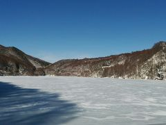 2017年冬の菅平湖と唐沢の滝