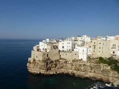 プーリア州優雅な夏バカンス♪ Vol50(第4日) ☆Polignano A Mare:「Hotel Covo dei Saraceni」スイートルームの広~いテラスから素晴らしいパノラマ♪