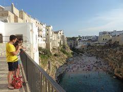 プーリア州優雅な夏バカンス♪ Vol53(第4日) ☆Polignano A Mare:美しい旧市街 パステルカラーの街並みと美しいビーチを眺めて♪
