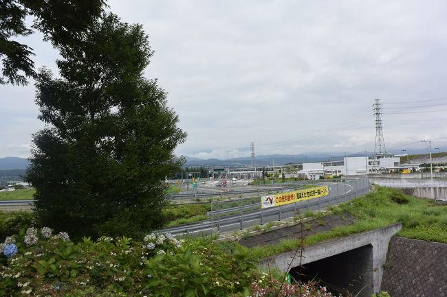 自転車で市内の新東名高速道新富士IC付近を走って来ました。