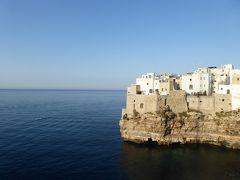 プーリア州優雅な夏バカンス♪ Vol57(第4日) ☆Polignano A Mare:「Hotel Covo dei Saraceni」スイートルームのテラスでくつろぐ♪