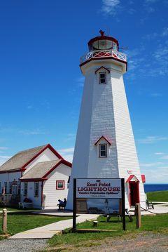 407-還暦記念旅行で半世紀をかけた夢、「赤毛のアン」のプリンスエドワード島でアンになる!…④東海岸灯台めぐり