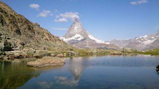 マッターホルンでトレッキング スイス夏④ ツェルマット