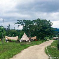 神鍋高原でキャンプ