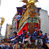 祇園祭前祭 山鉾巡行前の辻回し