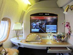 ブリティッシュエアウェイズ[リビングストン→ヨハネスブルグ] エミレーツ航空 ファーストクラス スイート B777-300ER・B777-200LR[ヨハネスブルグ→ドバイ→羽田]   南アフリカ・ザンビア・ジンバブエ9