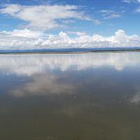 アッサム州ディブルガルで大河を見た