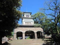 青春18キップで行く金沢 4(金沢21世紀美術館・尾山神社・近江市場)