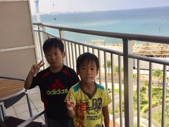 2017夏★沖縄家族旅行3泊4日【4日目】ヒルトン沖縄北谷リゾートから帰路へ