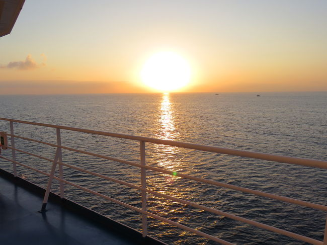 ローマからシチリアへ周遊自由旅行④ 夜行フェリー&バス大移動の日