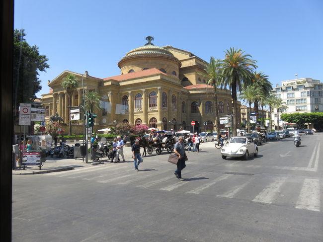 ローマからシチリアへ周遊自由旅行⑥ エキゾチックな州都パレルモ