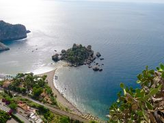 ローマ~シチリア周遊自由旅行⑦ タオルミーナ~イゾラ・ベッラとウニのパスタ
