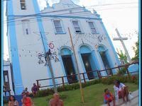 モーホ・デ・サンパウロ Morro de São Paulo という島(小さな島で、教会、街並み、Man watch編)−8−(サルバドール/バイーア州/ブラジル)