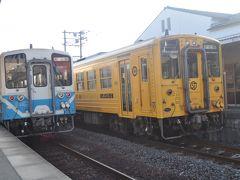 2017年8月四国鉄道旅行8(予讃線・内子線)