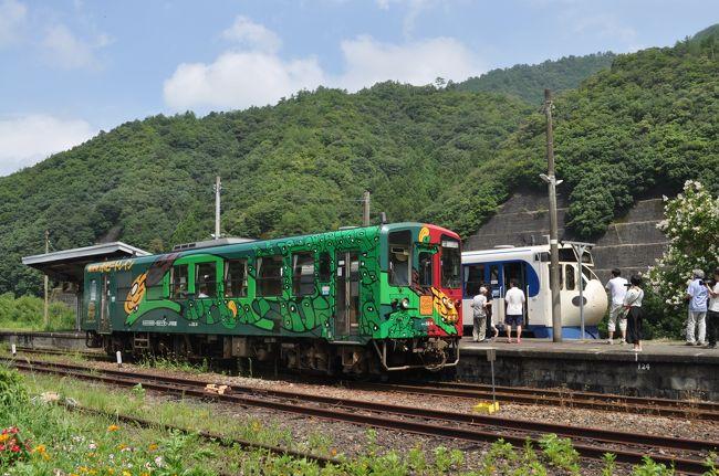 2017年8月四国鉄道旅行9(予土線)